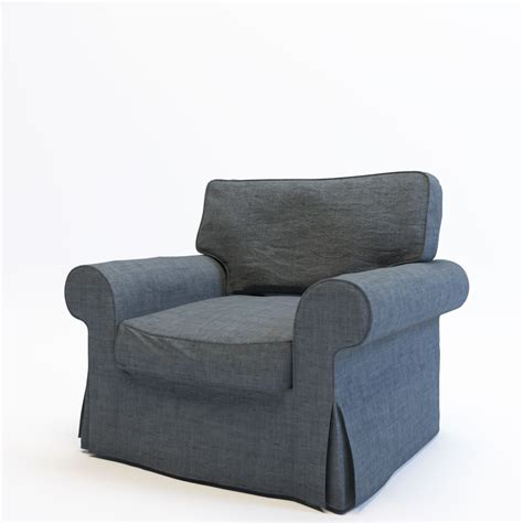 Ikea Ektorp Sessel by 3d Model Armchair Ikea Ektorp