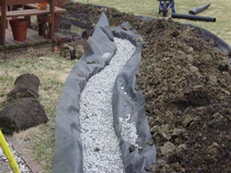 Drainage Gravel Cost How To Repairs How To Install A Drain Interior