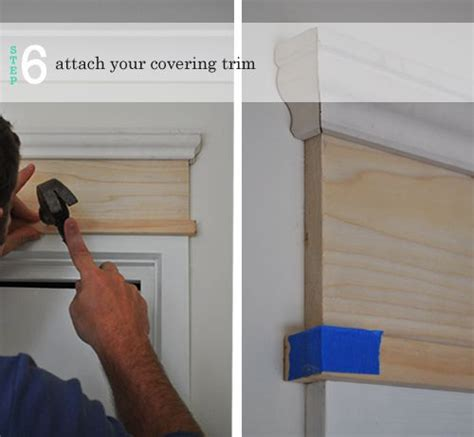 Add Moulding To Door by Diy Adding Moulding To Door Frames The Painted Hive