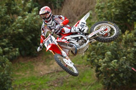 honda motocross jersey honda factory and support teams gear up for 2012 sx season