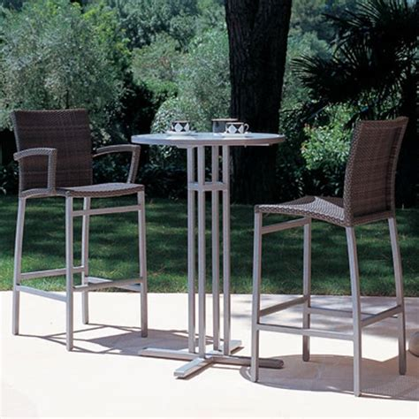 Outdoor Bistro Bar Stools by Rausch Outdoor Bistro Table Bar Stool
