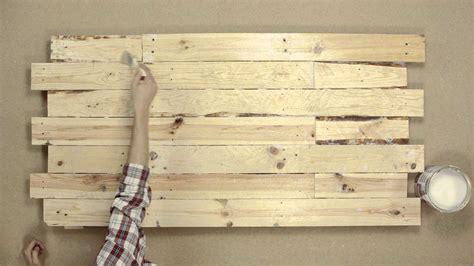 como hacer un cabecero de madera cabeceros de palets ideas planos cama madera es imagenes