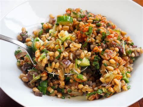 whole grains salad 23 nutty tasty and filling recipes with whole grains