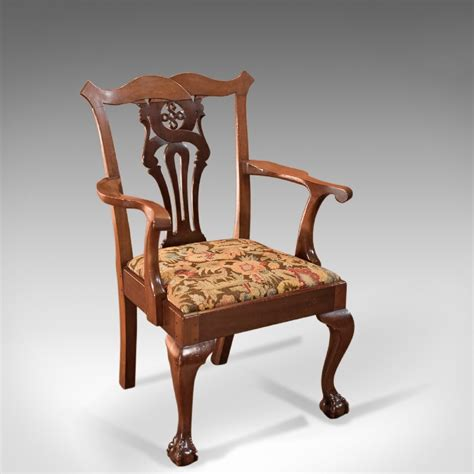 antique victorian armchair antique victorian chippendale revival armchair c 1880