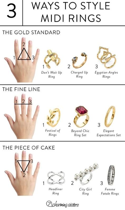 8 Tips On How To Wear The Make Up Trend by How To Wear And Style Midi Rings Rings Ring