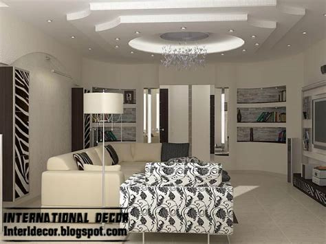 Gypsum Ceiling Design For Living Room Modern False Ceiling Designs For Living Room 2017