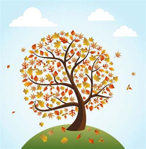 autumn season fall tree stock illustration i2767767 at featurepics fall season vintage banner global composition conc royalty free stock photography image 33557867