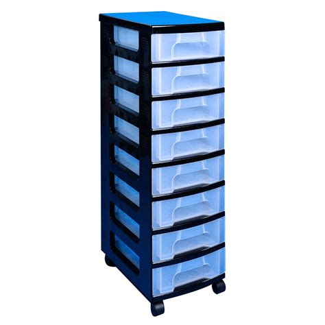 Really Useful Drawer Tower by Really Useful Box Tower Unit 8 X 7l Drawers Clear Staples 174