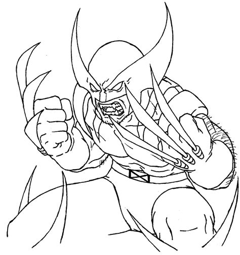 printable coloring pages printable wolverine coloring pages coloring me