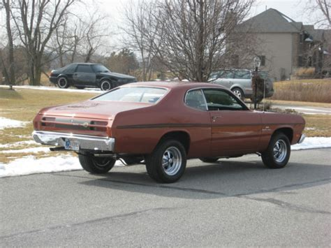 1970 plymouth duster show car