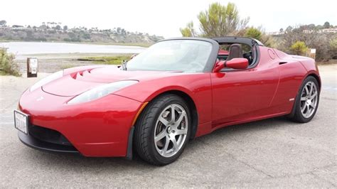 Ebay Tesla Pristine 2008 Tesla Roadster Up For Auction On Ebay All