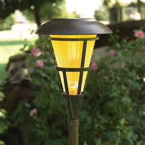 solar torch lights solar garden tiki torch lights 2 pk sam s club