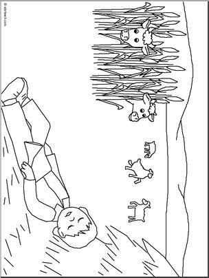 little boy blue coloring page i abcteach com abcteach