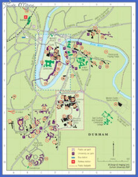 Of Carolina Greensboro Mba by Greensboro Map Tourist Attractions Toursmaps