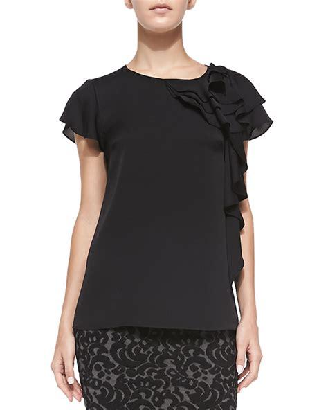 Black Blouse Sleeve Womens by Black Blouse Fantastic White Black Blouse