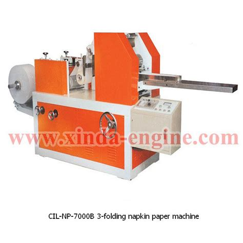 Napkin Paper Machine - cil np 7000b 3 folding napkin paper machine