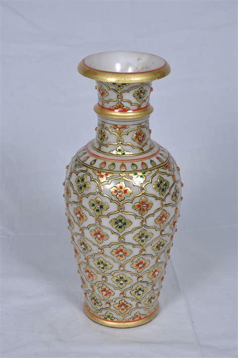 designer vase designer marble flower vase