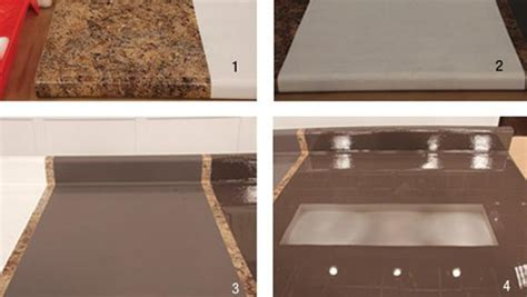 How To Redo Countertops Laminate by Painting Laminate Countertop Roselawnlutheran