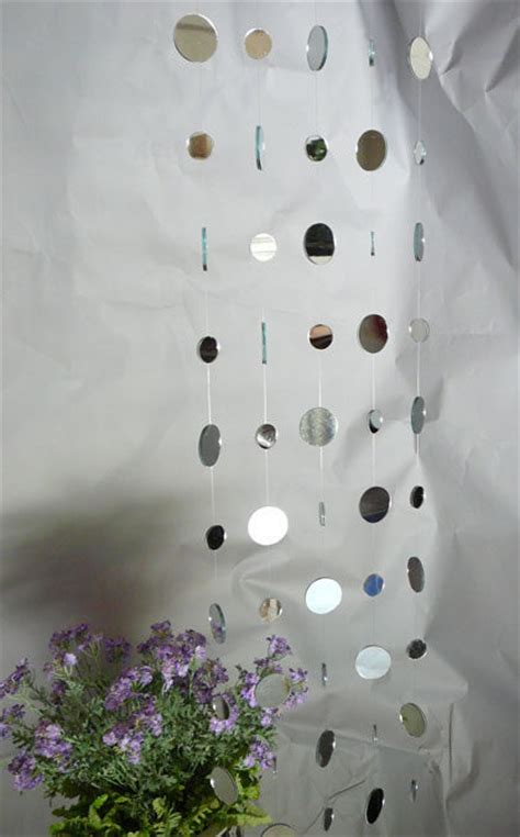 mirror curtain mirrored curtain feng shui curtain event decor direct