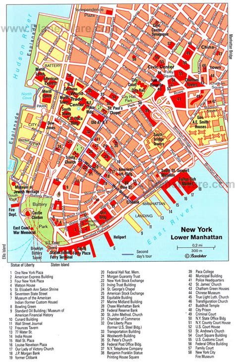 map of lower usa detailed map of lower manhattan lower manhattan detailed