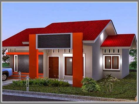 fasade tampil lebih hidup  paduan warna cerah