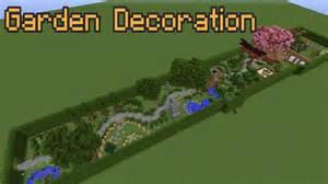 minecraft garden decoration ideas