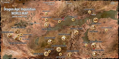 map world age age inquisition walkthrough guide maps