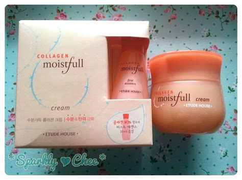 Collagen Etude House sparkly chee review etude house moistfull collagen