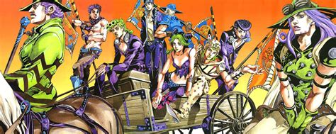 jojos bizarre adventure manga first impressions jojo s bizarre adventure part 7 steel ball run mlod