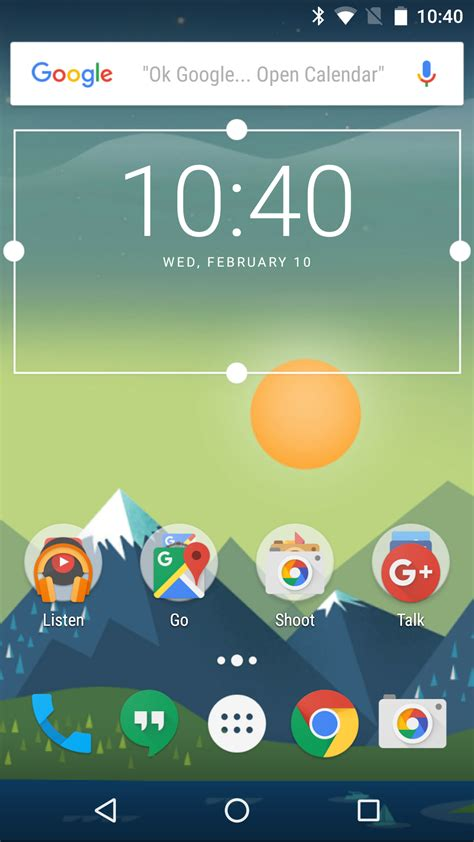 update widget layout android update fully resizable widgets and other tweaks clock