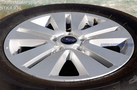 subaru factory wheels 2016 subaru outback oem 17 quot factory wheels p225 65r17