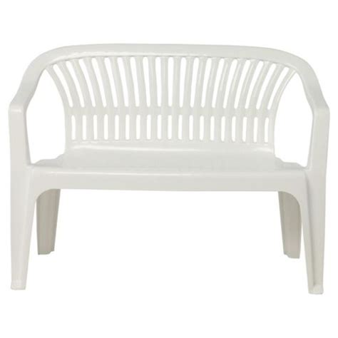 white plastic bench white plastic outdoor benches picture pixelmari com
