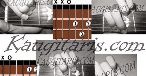 tutorial belajar gitar listrik gambar kunci dasar gitar dan penjelasan yang wajib