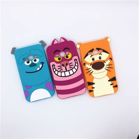 Samsung J5 J510 2016 Silicon 3d Kartun Cat Ears Casing Hp 1 3d sulley tiger cat soft