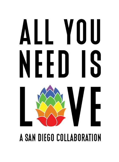 You Need Is all you need is a san diego collaboration karl
