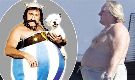 gerard depardieu s son death gerard depardieu gives obelix a run for his money on death