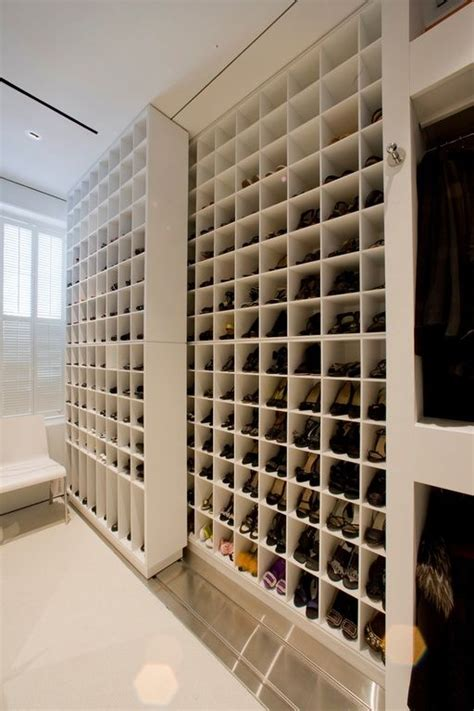 built in shoe storage 27 space saving closet wall storage ideas to try shelterness