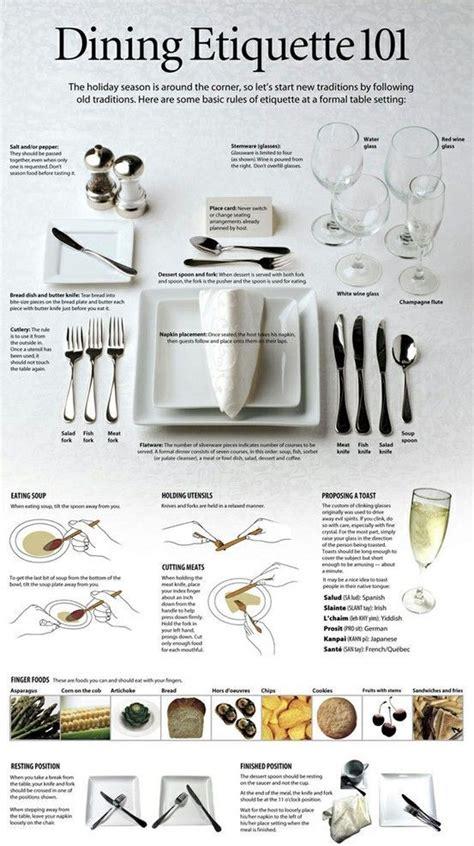 dining room etiquette 25 best ideas about formal dinner on pinterest table