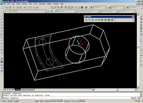 tutorial autocad 3d autocad tutorial 3d 01 brida youtube