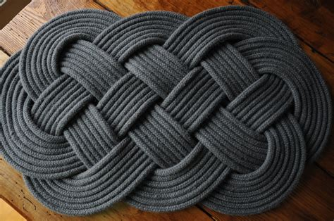 nautical rope rug nautical rope rug nautical gift rope mat nautical by oyknot