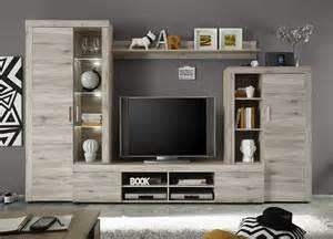 ensemble de meubles tv couleur chne ou chne clair tefias