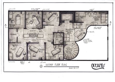 massage spa floor plans oasis day spa project by christin menendez at coroflot com