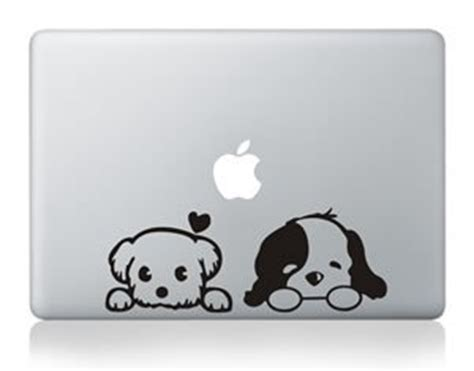 Decal Sticker Macbook Dogs Katze Decal 1puppy apple macbook air pro retina 13 quot vinyl sticker skin decal cover