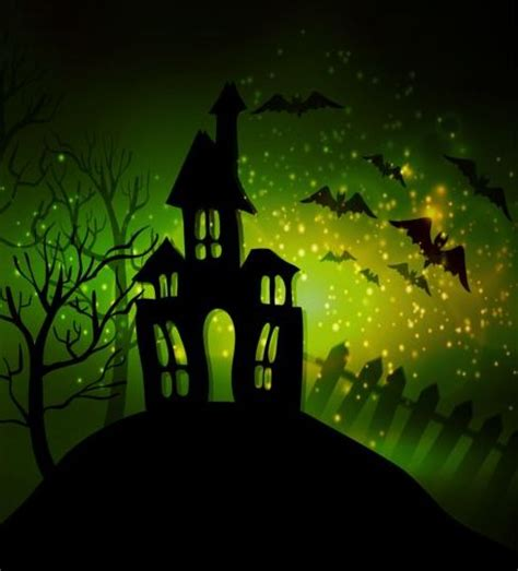 haunted house website design creative halloween haunted house design vector 10