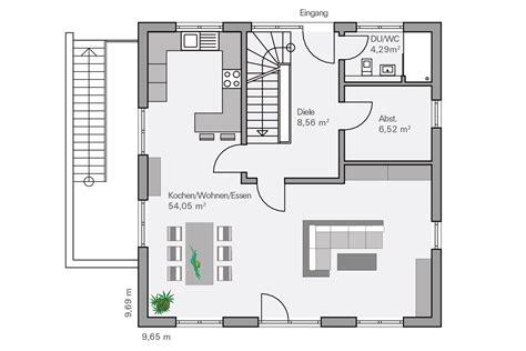 Haus 9x11 by Grundriss Quadratisches Haus Modernes Haus