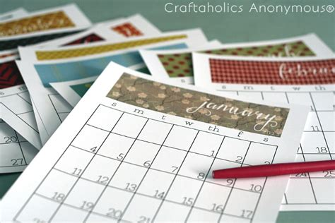 printable unmarked calendar craftaholics anonymous 174 free printable calendar for 2015
