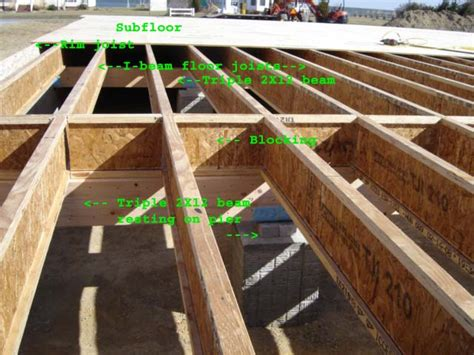 How Thick Are Floor Joists by Subfloor Page 2