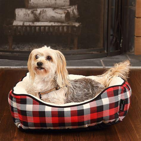 woolrich dog bed woolrich buffalo plaid cuddler dog bed 20x18