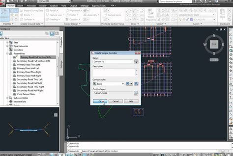 tutorial autocad civil 3d 2011 how to create a corridor in autocad civil 3d 2011 youtube