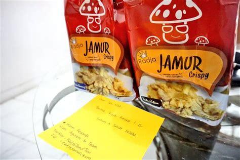 jual radja jamur crispy gurih paket isi  netto  gram